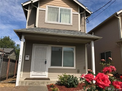 Seattle Single Family Home For Sale: 3906 S Holly St