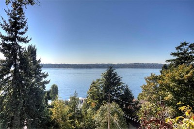 Mercer Island Single Family Home For Sale: 3440 W Mercer Wy