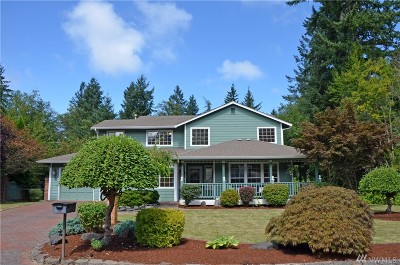 Gig Harbor Single Family Home For Sale: 3809 116th St Ct NW