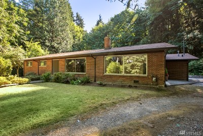 Issaquah Single Family Home For Sale: 14510 254th Ave SE