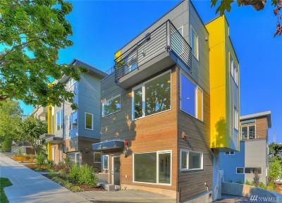 Seattle Single Family Home For Sale: 3920 1st Ave NE #B