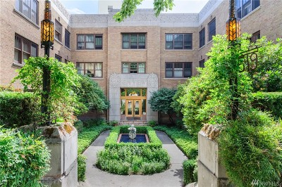 Condo/Townhouse For Sale: 519 W Roy St #309