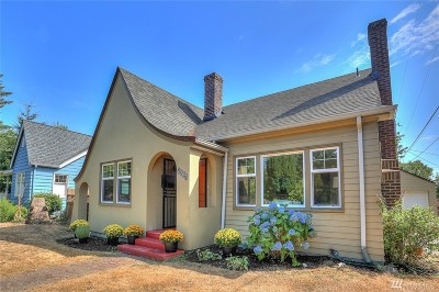 Seattle Single Family Home For Sale: 2007 NW 85th St