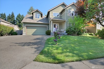 Puyallup Single Family Home For Sale: 9307 169th St E