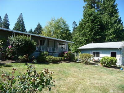 Port Ludlow Single Family Home For Sale: 3450 Paradise Bay Rd