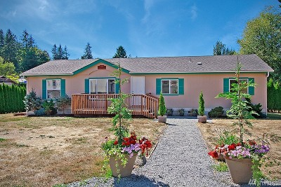 Snohomish Single Family Home For Sale: 5128 Fobes Rd