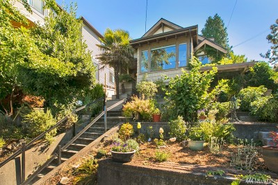 Seattle Single Family Home For Sale: 2540 12th Ave W