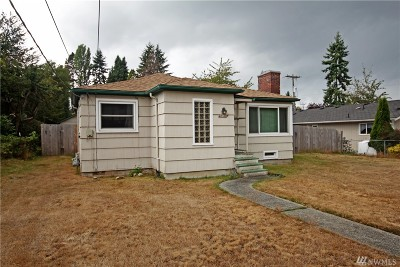Burien Single Family Home For Sale: 15611 9th Ave SW