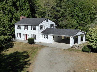 Mount Vernon, Burlington Single Family Home For Sale: 15375 Josh Wilson Rd
