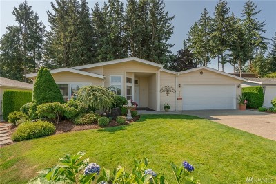 Puyallup Single Family Home For Sale: 9128 58th Ave E #184
