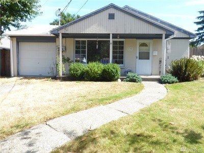 Tacoma WA Single Family Home Contingent: $265,000