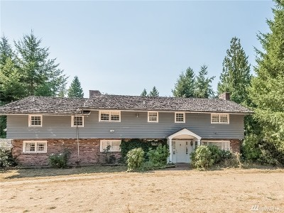 Woodinville Single Family Home For Sale: 15018 152nd Ave NE
