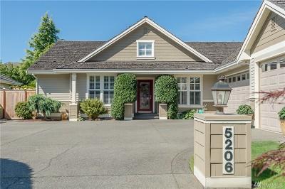 University Place Single Family Home For Sale: 5206 76th Av Ct W