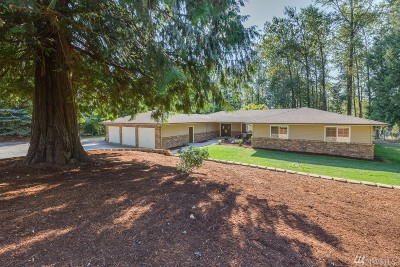 Snohomish Single Family Home For Sale: 23112 155th Ave SE