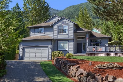 North Bend Single Family Home For Sale: 1125 14th Place SW