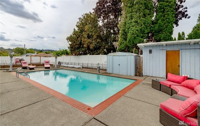 Puyallup Single Family Home For Sale: 1722 Tacoma Rd