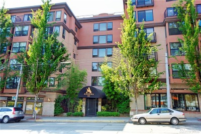 Seattle Condo/Townhouse For Sale: 323 Queen Anne Ave N #607