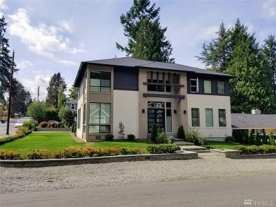 Bellevue Single Family Home For Sale: 10722 NE 25th St