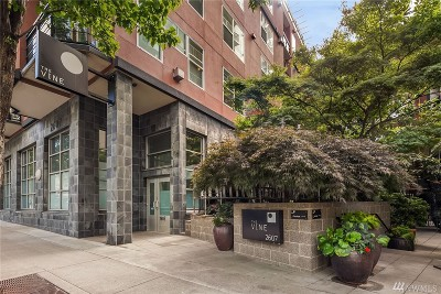 Seattle Condo/Townhouse For Sale: 2607 Western Ave #609