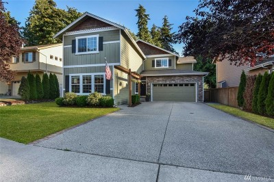 Snohomish Single Family Home For Sale: 1529 Weaver Wy
