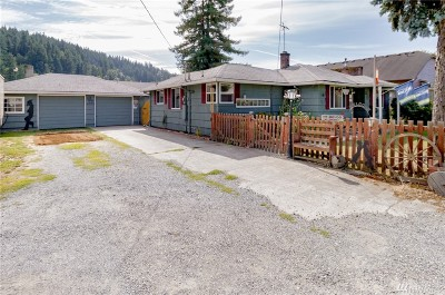 Sumner Single Family Home For Sale: 4505 East Valley Hwy E