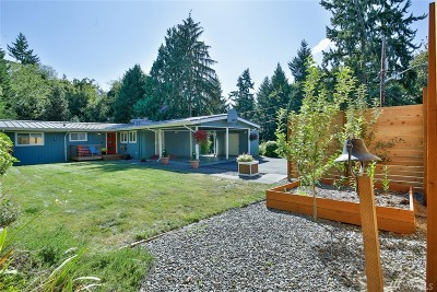 Kenmore Single Family Home Contingent: 7215 NE 156th St