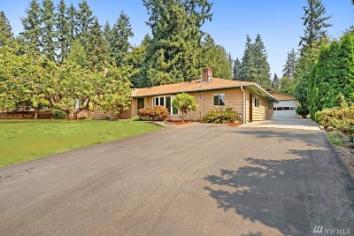 Bothell Single Family Home Contingent: 24315 6th Place W