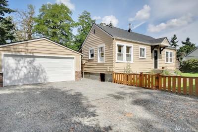 Tacoma WA Single Family Home For Sale: $198,500