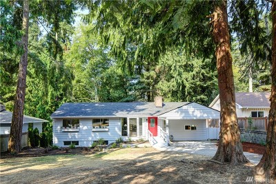 Shoreline Single Family Home For Sale: 17815 8th Ave NE