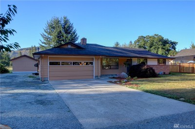 Sedro Woolley Single Family Home Contingent: 24790 Hoehn Rd