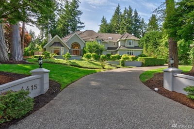 Gig Harbor Single Family Home For Sale: 4415 Towhee Dr NW