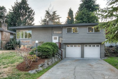 Shoreline Single Family Home For Sale: 14543 30th Ave NE