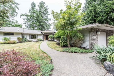 Olympia Single Family Home For Sale: 8000 Zangle Rd NE