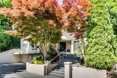 Mercer Island Single Family Home For Sale: 3696 72nd Place SE
