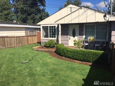 Tacoma WA Single Family Home For Sale: $219,500