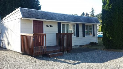 Puyallup WA Single Family Home For Sale: $187,500