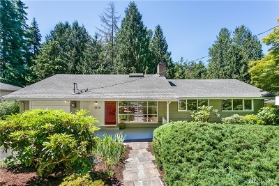 Bellevue Single Family Home For Sale: 2629 108th Ave NE