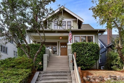 Seattle Single Family Home For Sale: 2633 Boyer Ave E