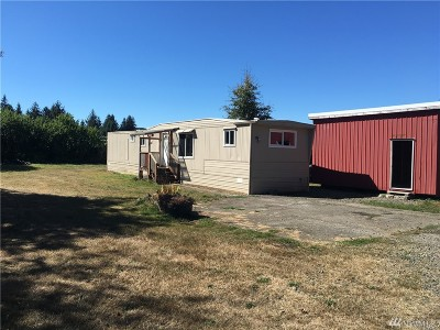 Forks WA Single Family Home For Sale: $55,000