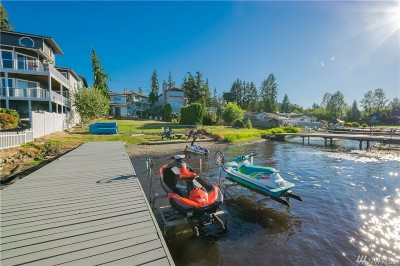 Lake Stevens Single Family Home For Sale: 11309 S Lake Stevens Rd