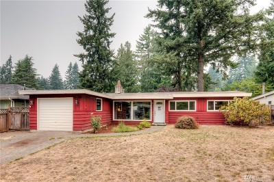 Shoreline Single Family Home For Sale: 120 N 193rd St