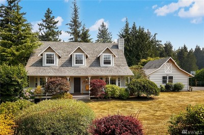 Stanwood Single Family Home For Sale: 14615 66th Ave NW