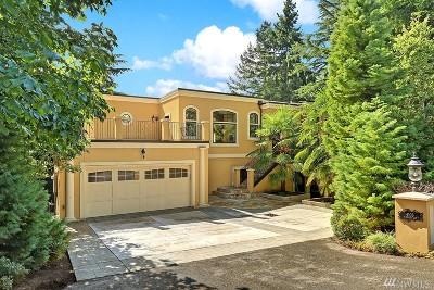Mercer Island Single Family Home For Sale: 4103 W Mercer Wy