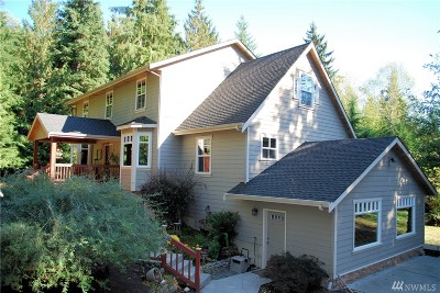 Snohomish Single Family Home For Sale: 15701 Ok Mill Road
