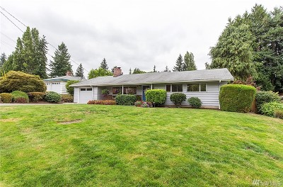 Bellevue Single Family Home For Sale: 16626 SE 11th St