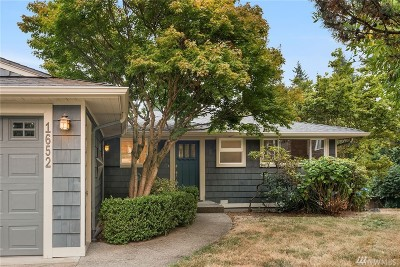 Bellevue Single Family Home For Sale: 1652 105th Ave SE