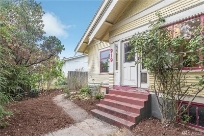 Single Family Home For Sale: 919 Alabama St