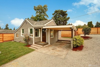 Single Family Home For Sale: 10056 4th Ave SW