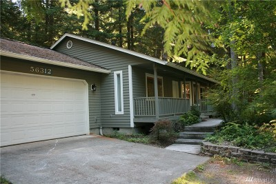 Ashford Single Family Home For Sale: 56312 343rd Ave E