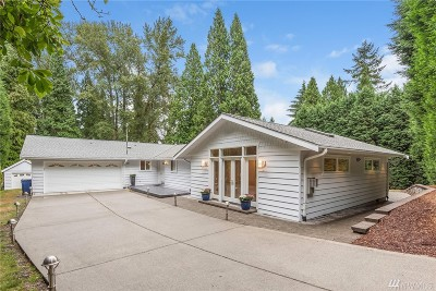 Woodinville Single Family Home For Sale: 22919 61st Ave SE